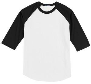 Sport-Tek® Youth Colorblock Raglan Jersey